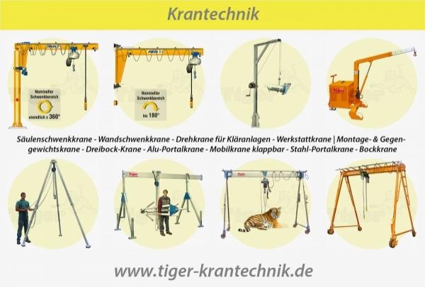 KRANTECHNIK - Zuverlässige Kransysteme zum flexiblem Heben und Bewegen.