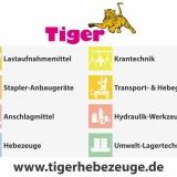 TigerHebezeuge - Ihr Partner für Kran Hebezeuge, Lastaufnahmemittel & Hebetechnik.
